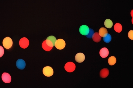 Abstract bokeh light from christmas tree use for background Stock Photo - 17115292