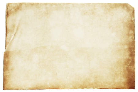 paper background: Vintage old paper with clipping path