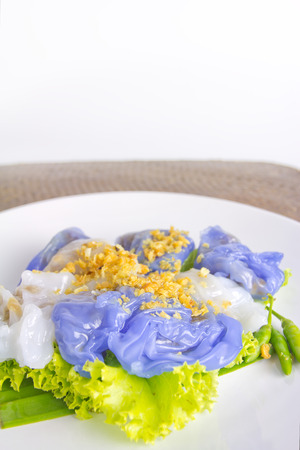 steamed rice-skin dumplings  photo