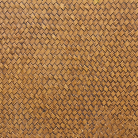 rattan mat: Old woven wood pattern for background