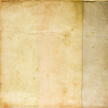 Real vintage paper texture for background photo