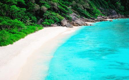 similan islands: Top view of Similan island. South of Thailand