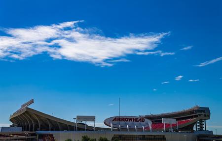 Kansas city, Missouri United States- 6262017 Arrowhead stadium home of the Kansas city Chiefs NFL football team