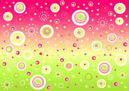 background abstracts: Fizzy abstract background