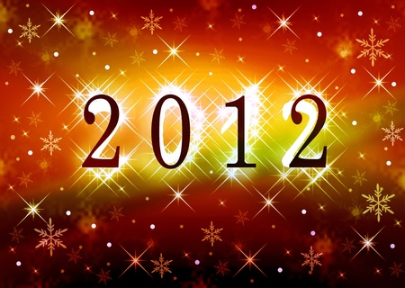 Best wishes 2012 Stock Photo - 11493462