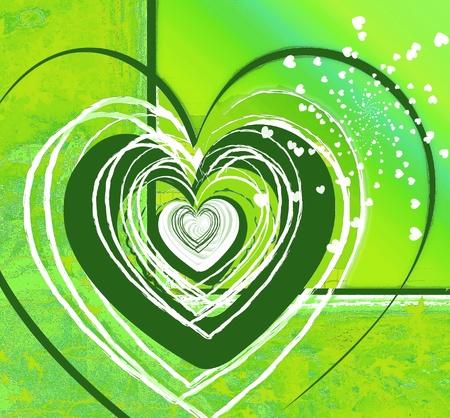 Carte d'amour Banque d'images