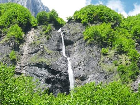 Wild waterfalls photo