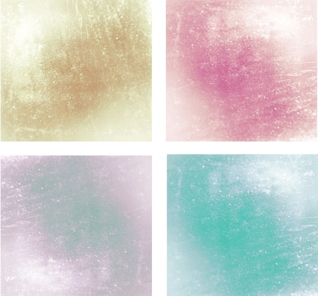Set of glossy blur backgrounds photo