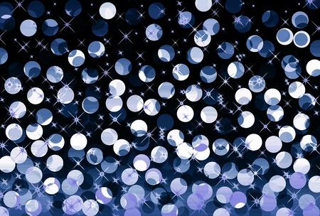 Festive blue background Stock Photo - 11583402