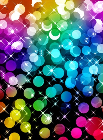 Festive multicolored background photo