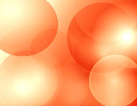 abstrait: Translucent abstract orange background