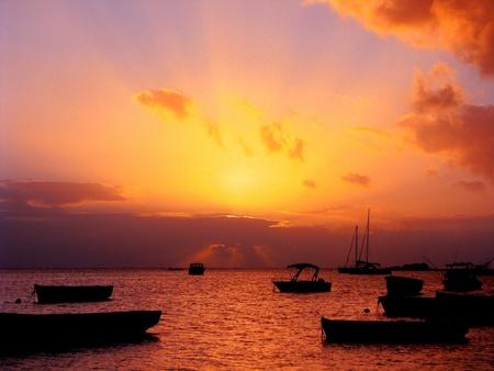 mauritius: Sunset in Mauritius