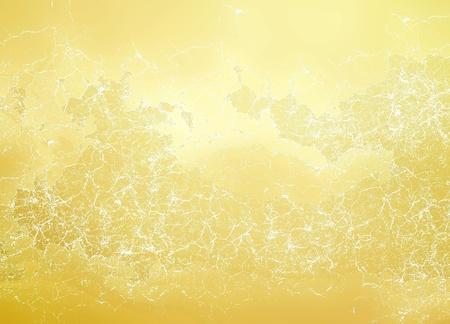 Textured golden background photo