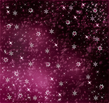 Magical and whimsical background with stars Stock Photo - 12543607