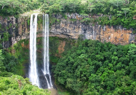 Mauritius Wasserf�lle, Chamarel Lizenzfreie Bilder