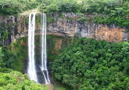 Mauritius waterfalls, Chamarel