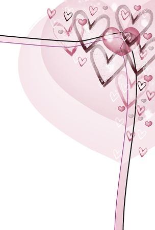 Amo las vibraciones de la tarjeta Foto de archivo - 12843677