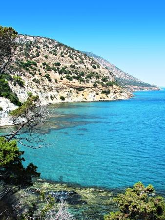 Cyprus, Akamas beach landscape