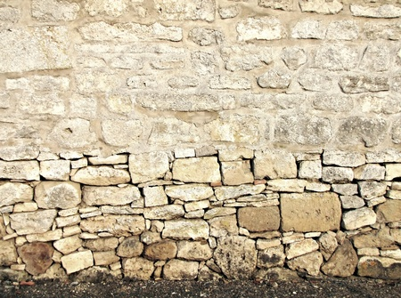 Grungy wall stone   Autumn background