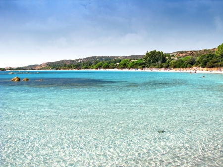 Korsika Strand, Palombaggia