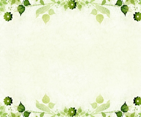 arabesque: Romantic floral vintage background