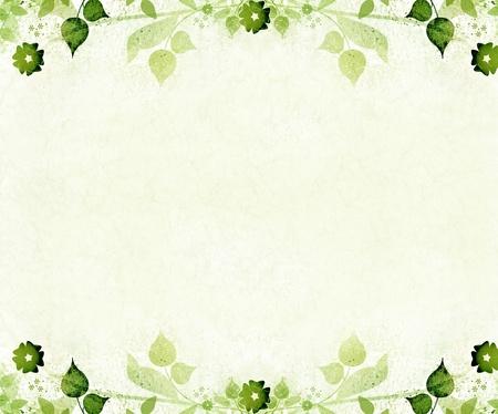 Romantische Blumen-Jahrgang Hintergrund