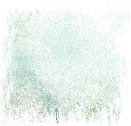 Blue damaged pastel background photo