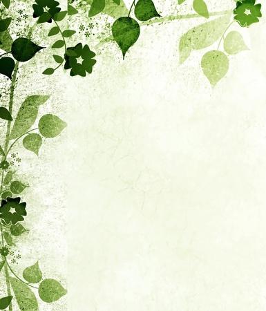 arabesque: Las hojas verdes