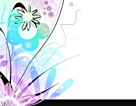 whimsy: Floral pastel design