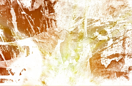 Abstract and artistic painted splash photo