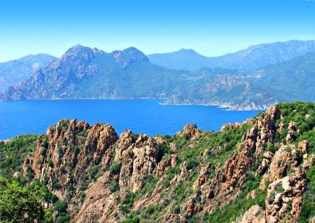 Calanches de Piana, in Corsica photo