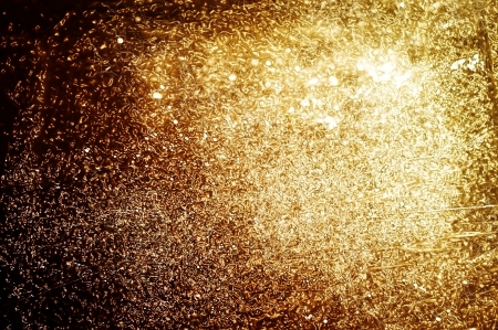 Golden and brilliant texture background