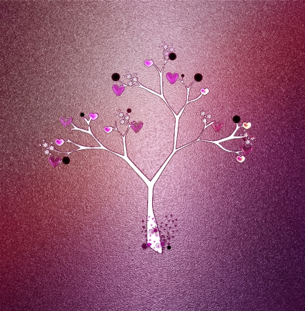 Love tree Stock Photo - 14189000