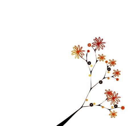 Motif floral Banque d'images