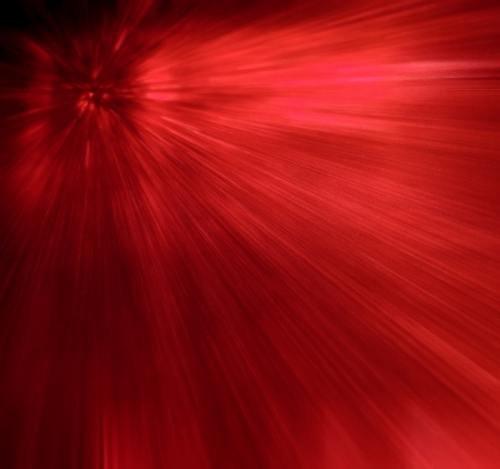 Gamma rays rouge