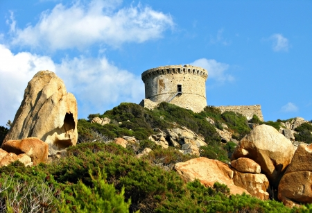 Genoese tower, Corsica photo