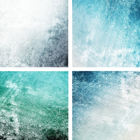 Blue grungy backgrounds photo