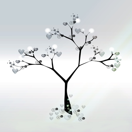 Loving gifts pastel tree photo