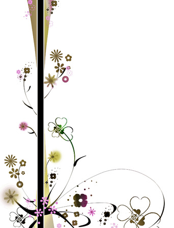 Floral banner photo