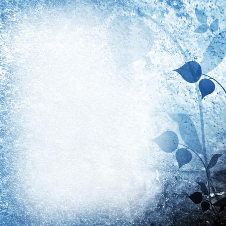 Weinlese verl�sst Blumen Natur Karte