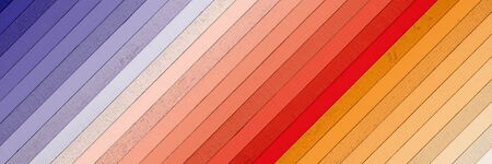 Colorful wood wide background. Imagens