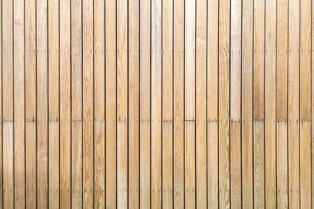 Wood wall texture with natural color and patterns. 免版税图像