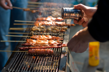 barbecue: Barbecue Banque d'images
