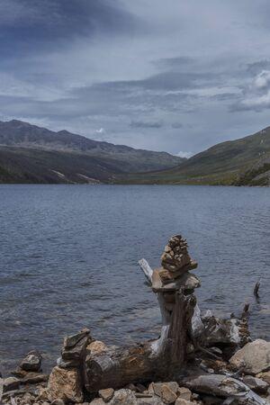 Plateau lake scenery