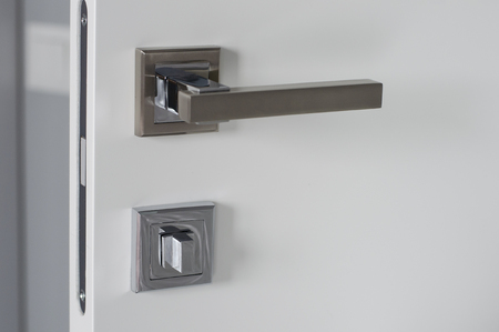 Door handle with lock. Door handle for door or Cabinet. Furniture accessories.