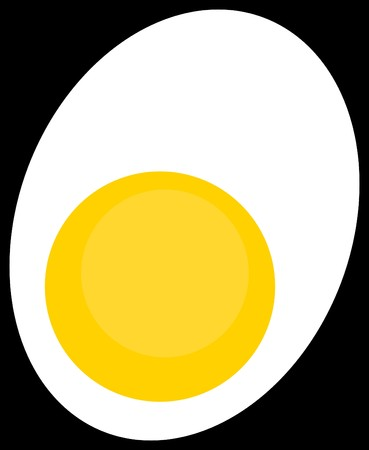White Egg Yellow Yolk.