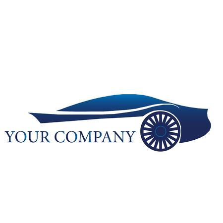 Auto Auto Logo Sjabloon. Vector