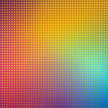 halftone cover: Point pixel colorful background. Vector