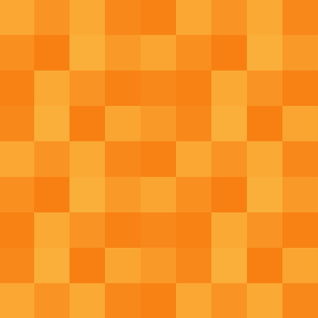 Yellow orange square geometric vector background