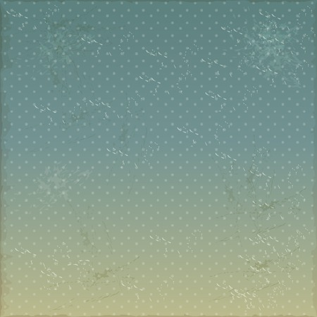 Vintage blue sky background grunge. Vector